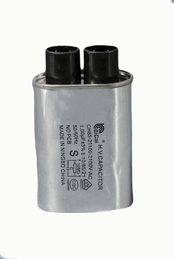 LG Electronics 0CZZW1H004B Microwave Oven High Voltage Capacitor