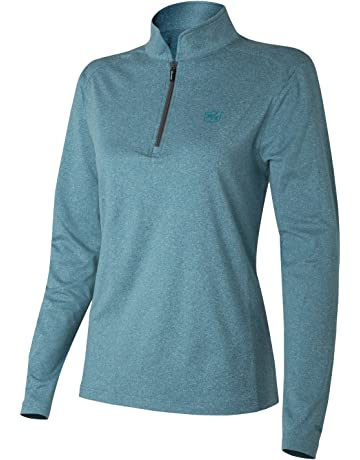 Wilson Golf Femme Haut à Longues Manches Performance, THERMAL TECH,  Polyester Spandex, 87fd050f6928