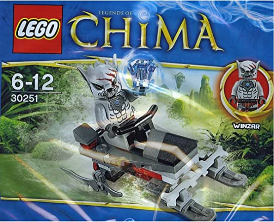 LEGO Chima exclusif-set 30251 winzars pack patrol