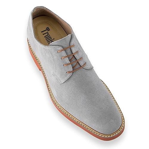 298e6550 Masaltos Zapatos de Hombre con Alzas Que Aumentan Altura Hasta 7 cm.  Fabricados EN Piel. Modelo Corby A: Amazon.es: Zapatos y complementos