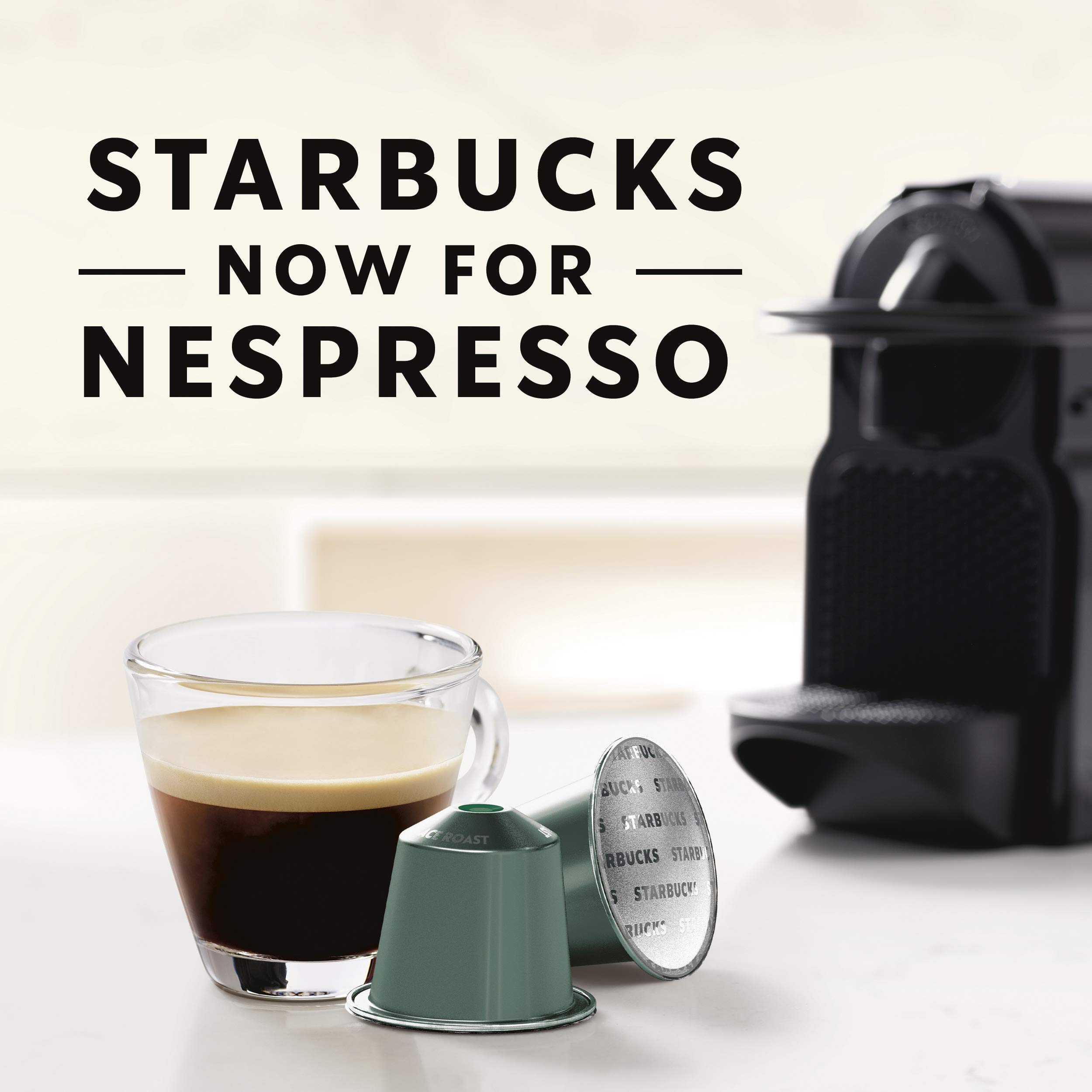 Starbucks by Nespresso, Pike Place Roast (50-count single serve capsules, compatible with Nespresso Original Line System) by Starbucks for Nespresso (Image #2)