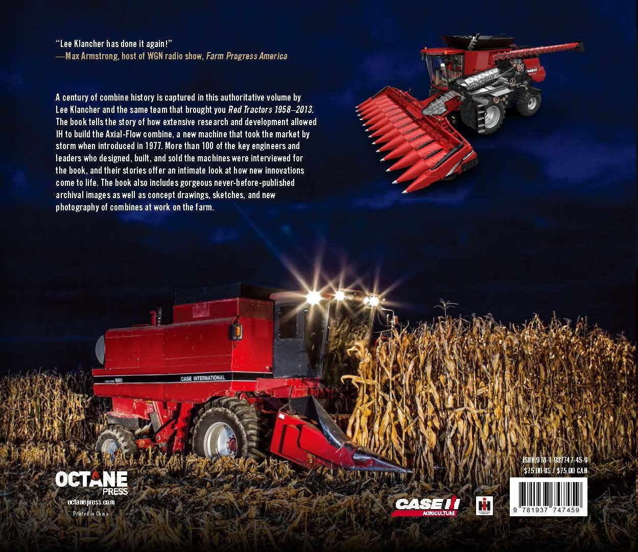 Red Combines 1915-2015: The Authoritative Guide to International Harvester and Case IH Combines and Harvesting Equipment by Octane Press LLC (Image #2)