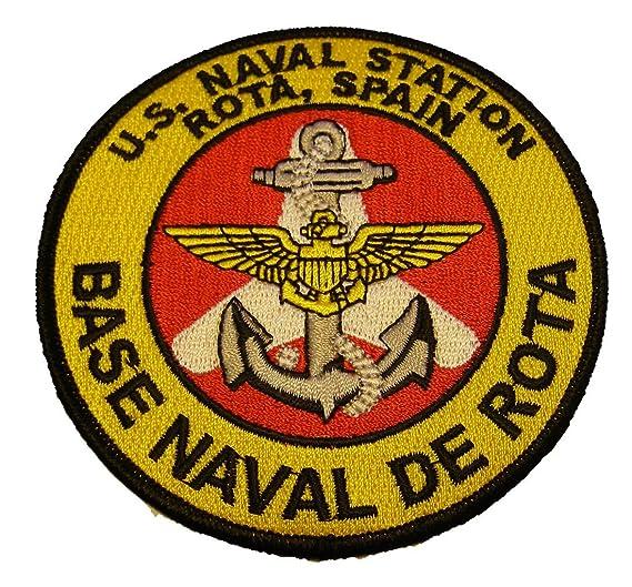 amazon com u s naval station rota spain base naval de rota round