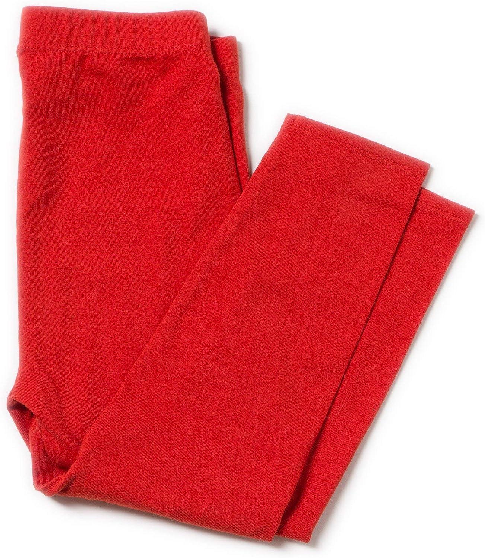 Little Green Radicals Leggings rojos de algodón orgánico 18-24 ...