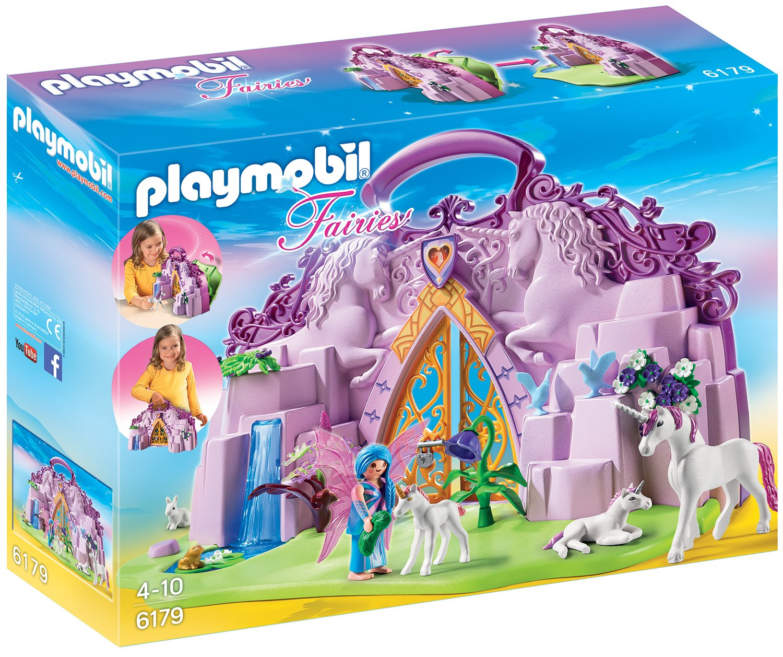 Playmobil 6179 - Einhornköfferchen Feenland Feenland Feenland 08a4b5