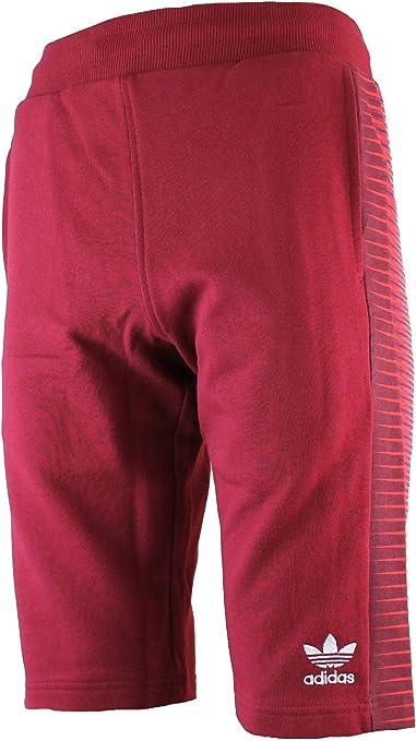 adidas Originals - Pantalón corto - para hombre rojo granate XX-Large: Amazon.es: Ropa y accesorios