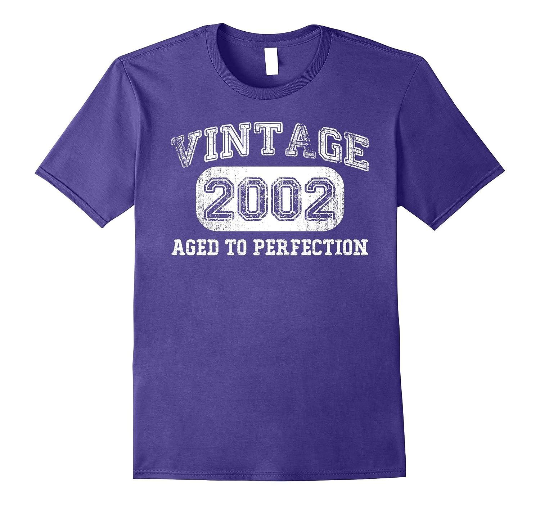 Vintage 2002 Shirt, 15 Year old Boy Girl Birthday gift, 2002-T-Shirt