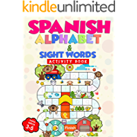 Spanish Alphabet & Sight Words Activity Book: Alfabeto español y palabras de alta frecuencia Libro de actividades: For…