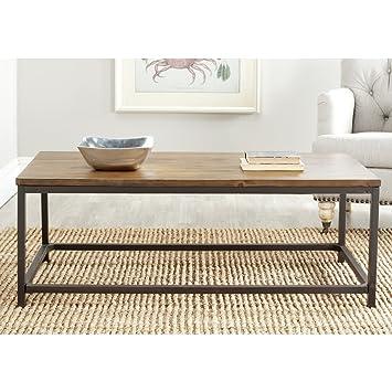 Perfect Safavieh Alec Coffee Table, Medium Oak