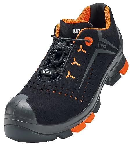 UVEX Sicherheitsschuh 6501 UVEX 2 S1 P SRC universeller Arbeitsschuh Farbe: Schwarz Gr. 40