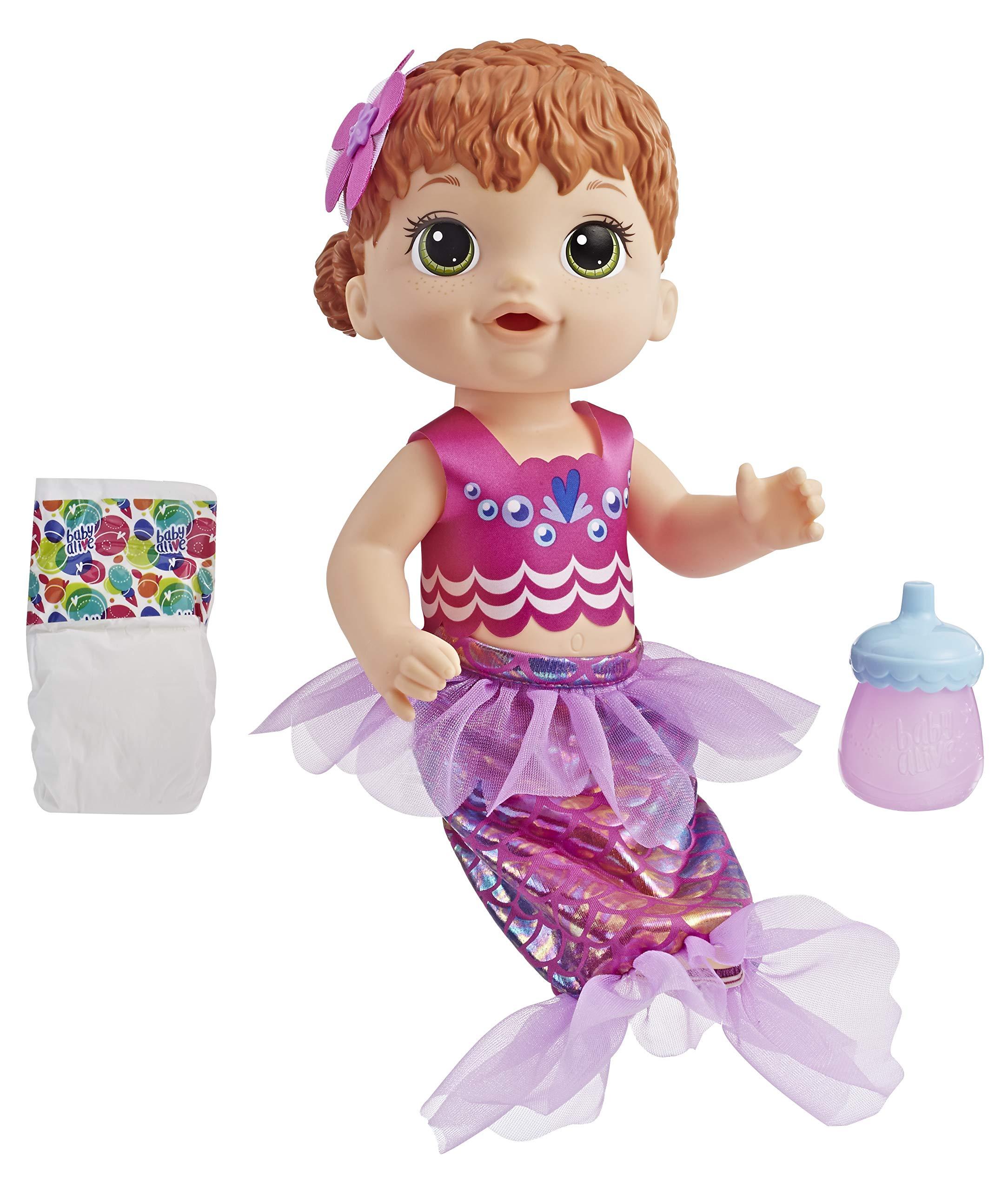Baby Alive E4410es1 Shimmer N Splash Mermaid Figure Multi