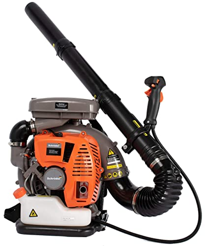 Schr der Germany Industrial Backpack Leaf Blower 5-Year Warranty Model SR-6400L