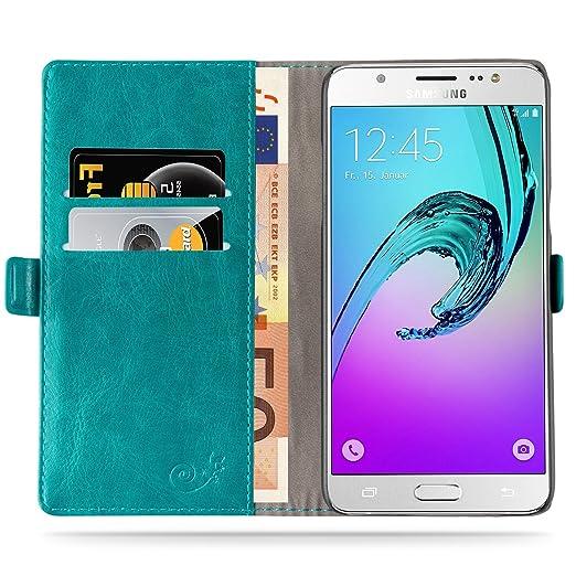 298 opinioni per Cover Galaxy J5 (2016), JAMMYLIZARD Custodia Luxury Wallet a Libro in Pelle per