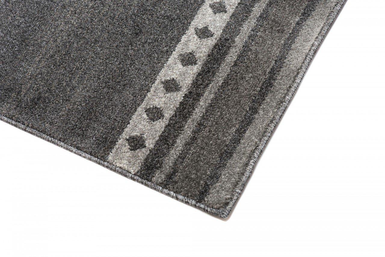 Tapiso Designer Teppich Wohnzimmer Teppich KURZFLOR KURZFLOR KURZFLOR Creme BLAU MODERN Marokkanische Muster 160 x 220 cm 930087