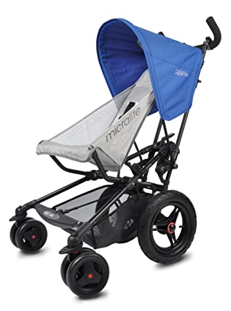 Amazon.com: micralite FastFold Superlite carriola en azul: Baby