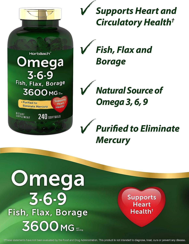 ventajas de omega 3 6 9