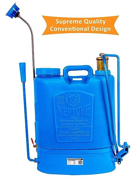 NEPTUNE SIMPLIFY FARMING Knapsack Hand Operated Garden Sprayer-10 (Capacity: 16 Ltr)