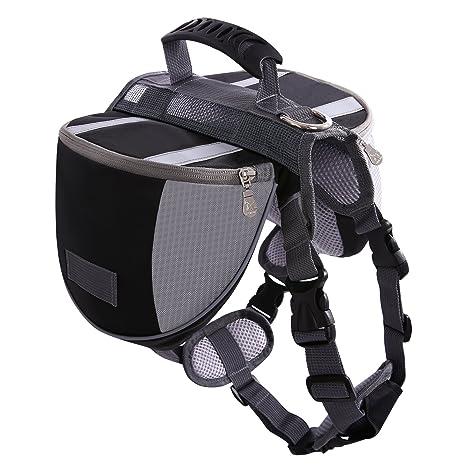 Amazon.com : SAWMONG Dog Backpack Saddle Adjustable Service Dog Bags