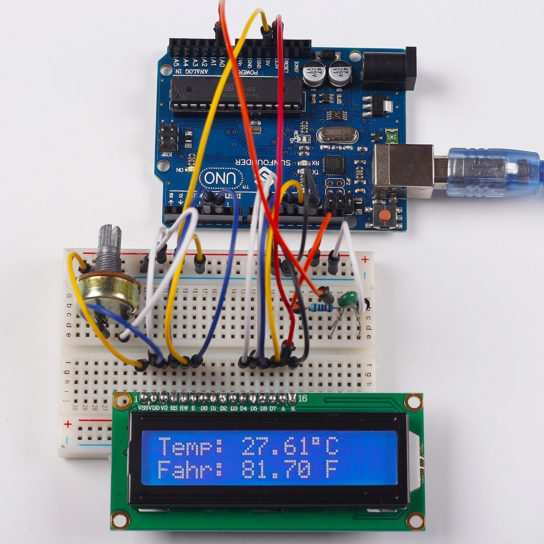 HiLetgo® 2pcs 1602 pantalla del módulo LCD en serie con retroiluminación azul HD44780 Carácter del controlador para Arduino Uno R3 Mega 2560: Amazon.es: ...