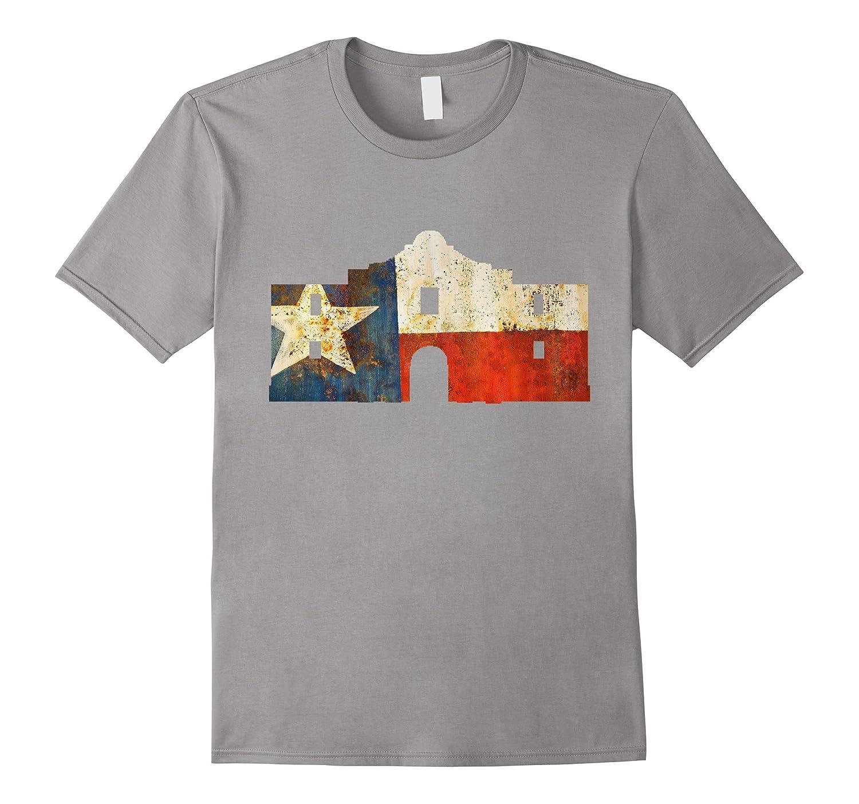 Texas Flag Alamo Mission Pride Shirt-TD