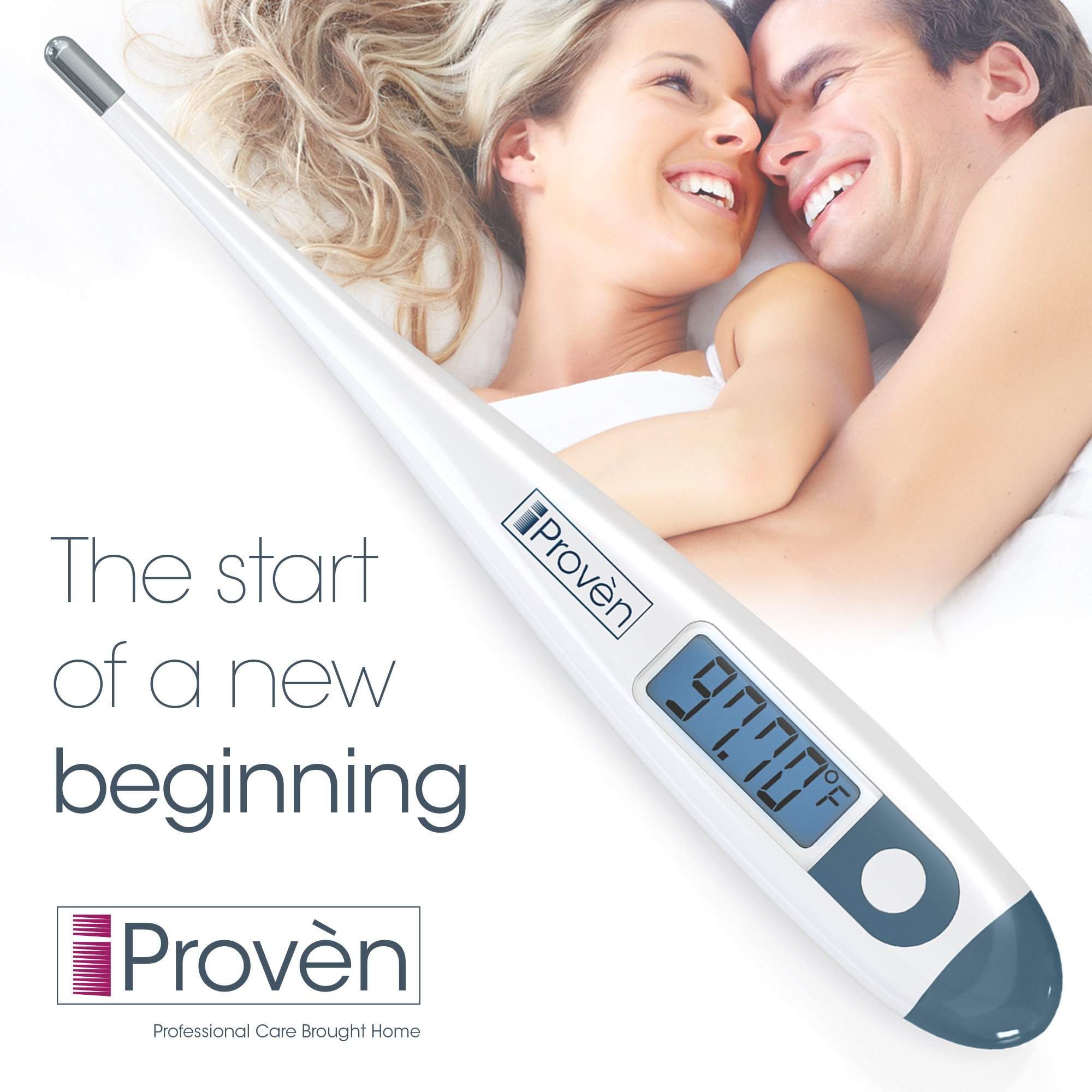 Clinical Basal Thermometer - BBT-113i by iProvèn Updated Model with Backlight - Accurate 1/100th Degree, Highly Sensitive, Perfect Companion for Family Planning by iProvèn (Image #3)