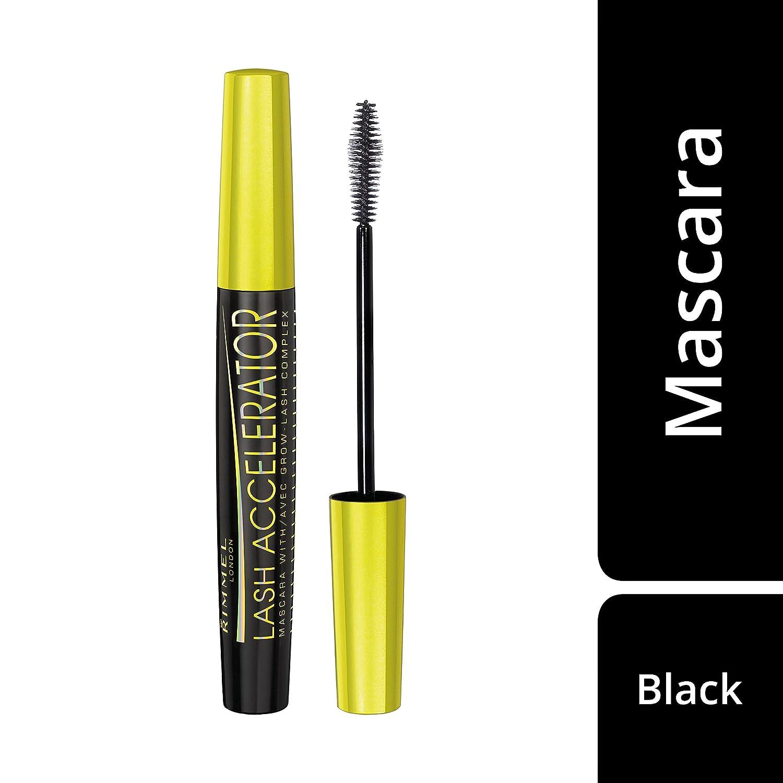 229046da916 Amazon.com : Rimmel Lash Accelerator Mascara Black, 0.23 Ounce : Lash  Accelerator Serum With Grow Lash Complex : Beauty