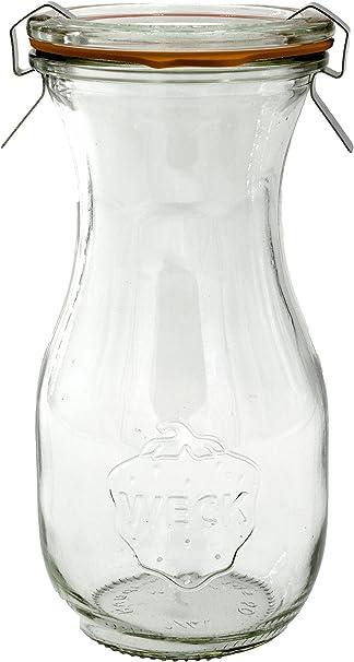 WECK 290 ml Tarro en forma de botella, lot of 6