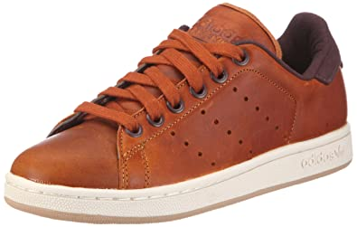 stan smith marroni pelle