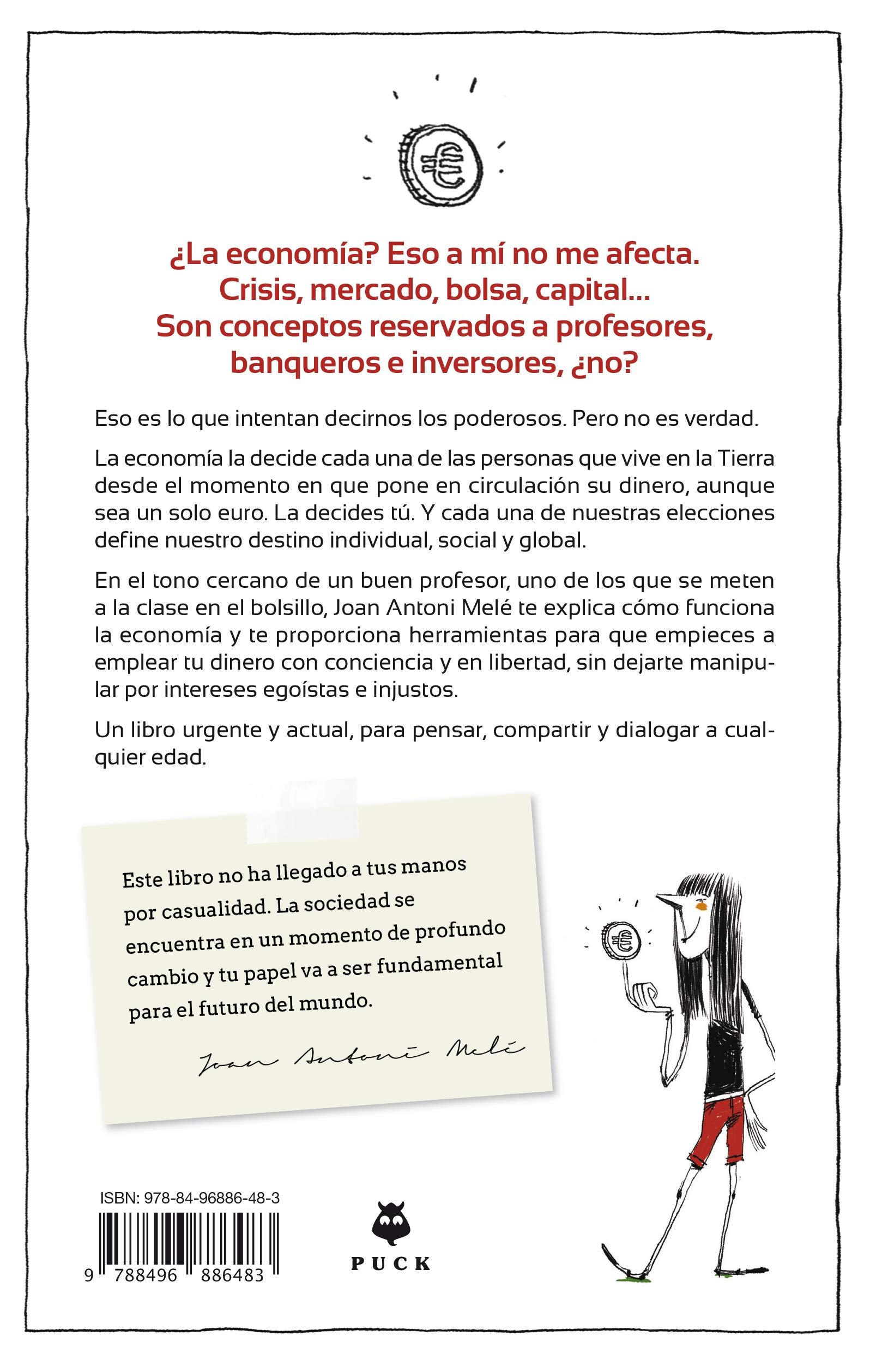 La economía explicada a los jóvenes (Puck): Amazon.es: Melé, Joan ...