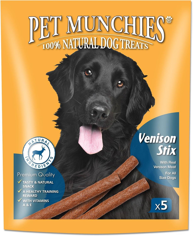 Pet Munchies Venison Stix, 50 g, Pack of 10