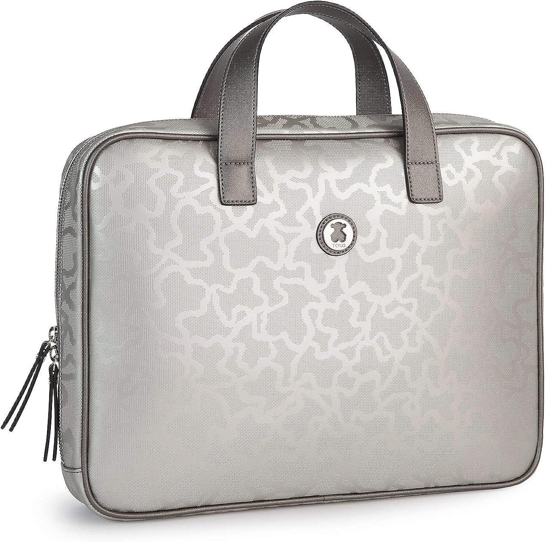 TOUS Kaos Shiny City Silver colored Bag