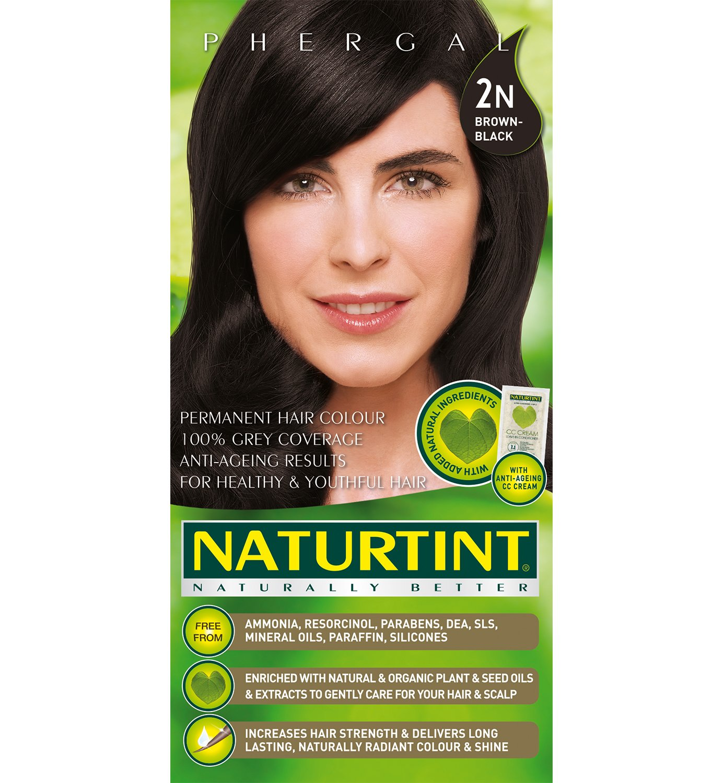 Hair Color Brown Black 2N - 5.28 oz - Liquid