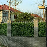 Artificial Ivy Mats, Greenery Shrubs Topiaries Panels, Garden Hedges Fence, Privacy Fencing Screen