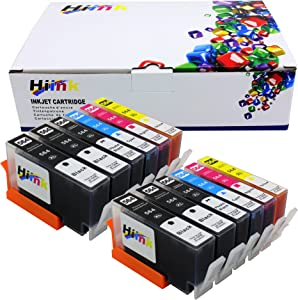 HIINK Comaptible Ink Cartridge Replacement for HP 564 564XL Ink Cartridges Used in HP Photosmart 5520 6520 7520 5510 6510 7510 7525 B8550 C6380 D7560 C309A C410 Officejet 4620 Deskjet 3520(12-Pack)