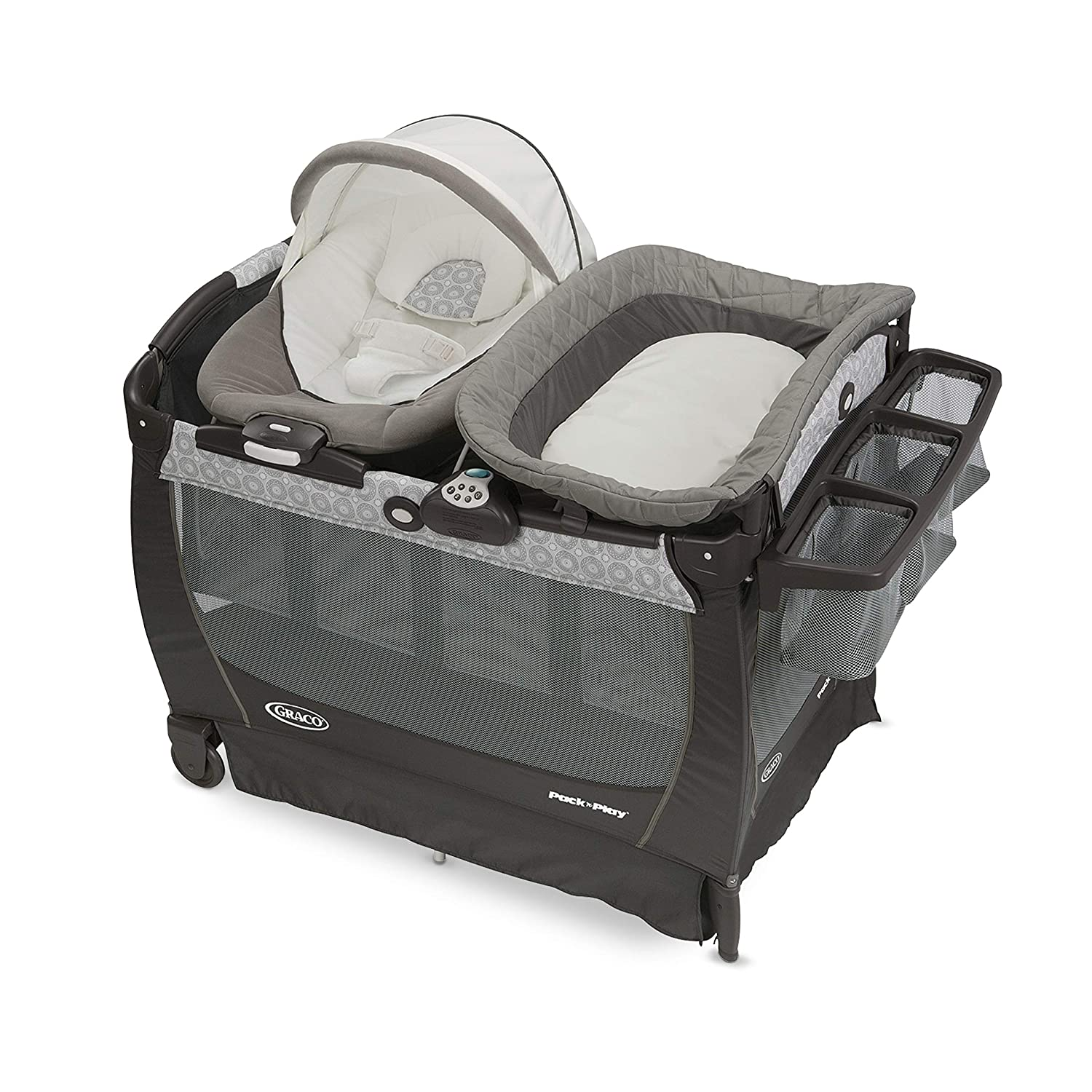 Graco Pack n Play Playard Snuggle Suite LX, Abbington