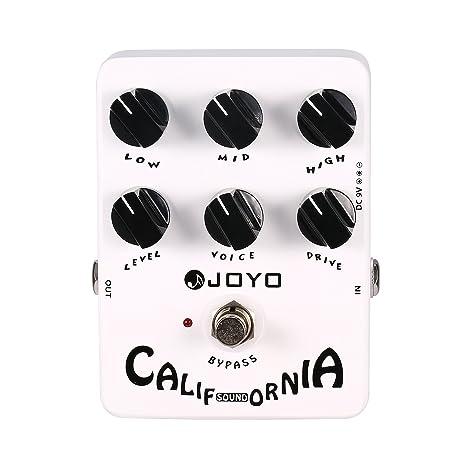 Joyo Pedal de Efectos para Guitarra Eléctrica (California Sound)