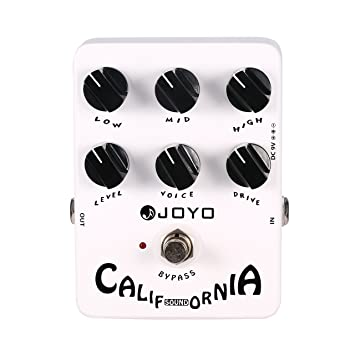 Joyo Pedal de Efectos para Guitarra Eléctrica (California Sound): Amazon.es: Instrumentos musicales