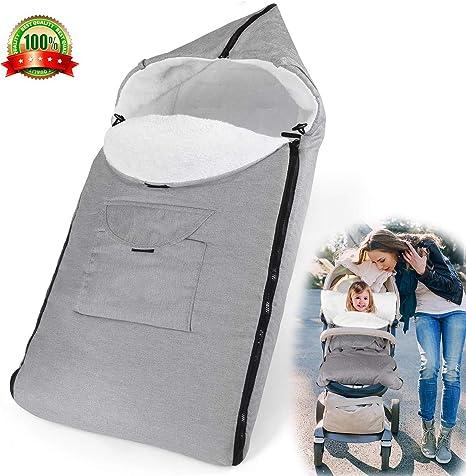 AUVSTAR Saco de Dormir Térmico Universal para Bebé,Saco para silla ...