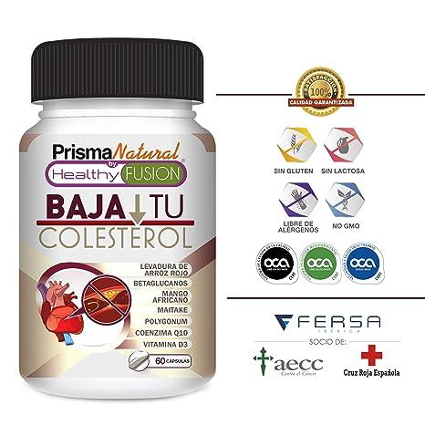 BAJA TU COLESTEROL – Reduce los niveles de Colesterol LDL y aumenta el nivel HDL –