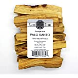 Saint Terra - Premium Palo Santo (Holy Wood) 8 oz Pack Artisan Cut Smudge Stick - 100% Natural