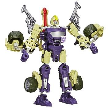 Figura Blitzwing de Transformers Construct-Bots Robot Triple Transformación