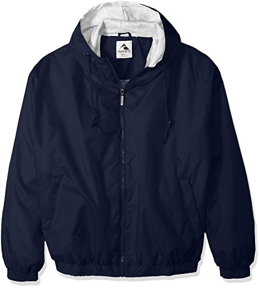 809acd09 Amazon.com: Augusta Sportswear Unisex-Adult Hooded Taffeta Jacket ...