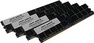parts-quick 16GB Kit 4 x 4GB Memory for Dell PowerEdge 2850 Server PC2-3200R ECC Registered DDR2-400MHz 240 pin 1.8v DIMM Brand