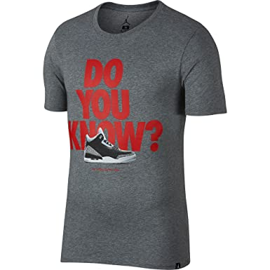 Nike Air Jordan III AJ3 Do You Know Collection 30th Anniversary 1988 All Star Dunk Contest T-Shirt