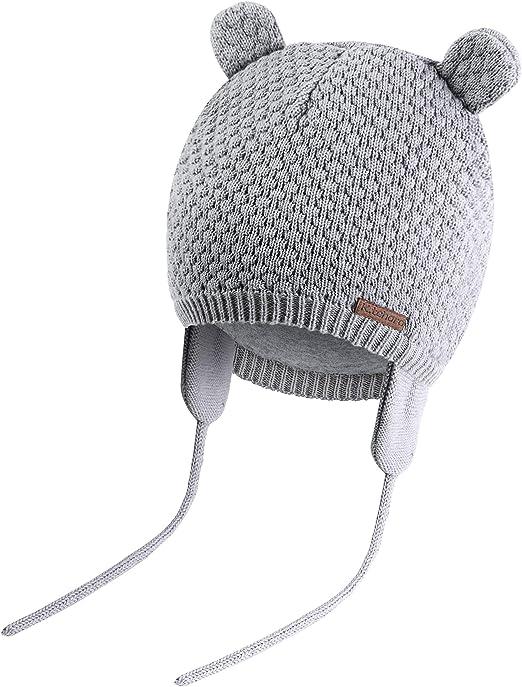 TupTam Baby M/ädchen Winter M/ütze mit Ohrenschutz