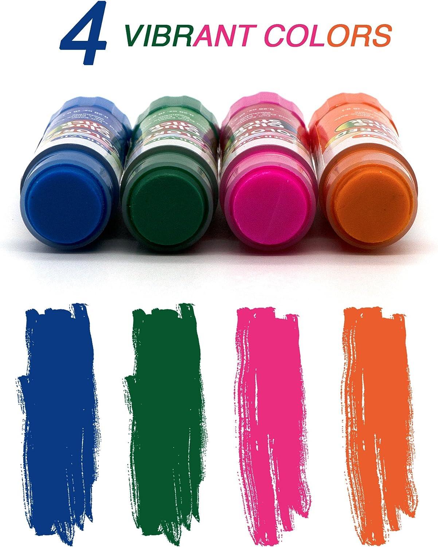 Bon pour la maison Emraw B/âton de colle color/é lavable sans acide sans rides enveloppes lot de 8 Couleurs incluses : bleu etc pour photos papiers rose et orange vert le bureau et l/école
