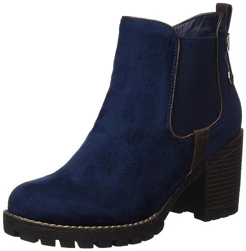 Refresh Damen 063885 Chelsea Boots Blau Navy, 41 EU: Amazon
