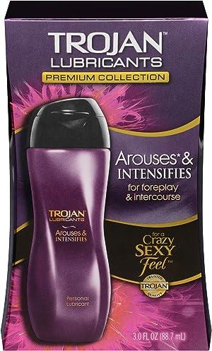 Trojan Arouses & Intensifies Personal Lubricant, 3 oz.
