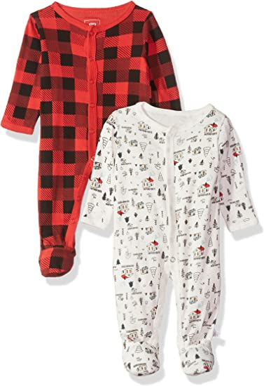 0-3 Months Totally Sweet Rosie Pope Baby 2-Pack Coveralls