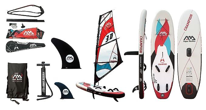 Amazon.com: Aqua Marina bt-s300 Tabla Champion Paddle Surf ...